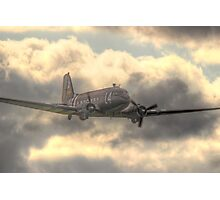 The Douglas C-47 Skytrain - Wings And Wheels 2014 - HDR Photographic Print