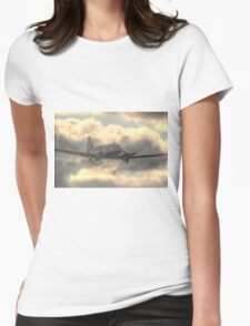 The Douglas C-47 Skytrain - Wings And Wheels 2014 - HDR Womens Fitted T-Shirt