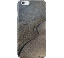 Lakeshore Tranquility - the Slowly Curling Wave iPhone Case/Skin