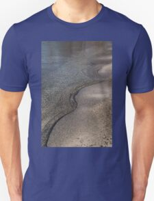 Lakeshore Tranquility - the Slowly Curling Wave Unisex T-Shirt