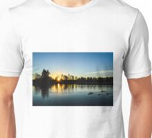 Washington Winter Sunset Unisex T-Shirt