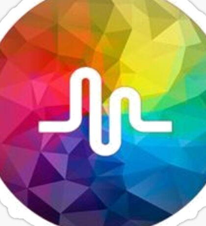 Musically Rainbow Sticker