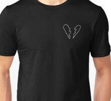 Broken heart tee Unisex T-Shirt