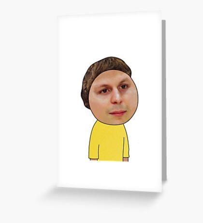 Morty HD Greeting Card