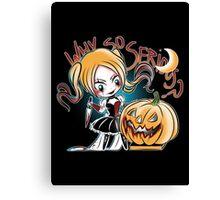 Hey Pumpkin Canvas Print