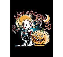Hey Pumpkin Photographic Print
