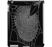 A Large Illustration Of A Spider's Web iPad Case/Skin