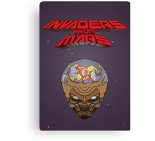 Invaders from Mars Canvas Print