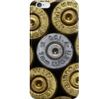 9mm Brass #1 iPhone Case/Skin