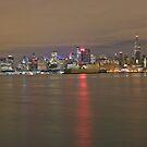 Manhattan On The Hudson by pmarella