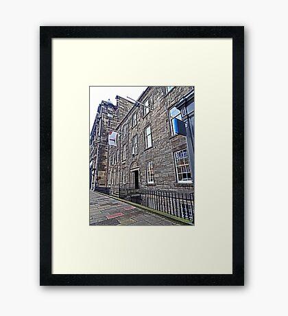 Northern Lighthouse Board Office Edinburgh Framed Print