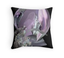 Watching The Fairy Queen's Court  Throw Pillow