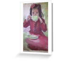 Grown up High Tea Greeting Card