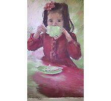 Grown up High Tea Photographic Print