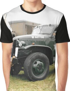 1942 WWII 6x6 Army Truck, GMC Graphic T-Shirt