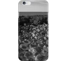 The Pentagon Rocks Black & White iPhone Case/Skin