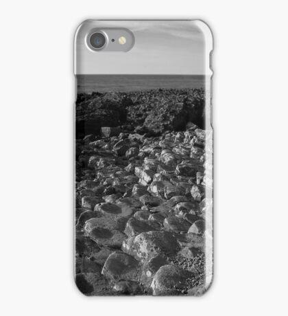 The Pentagon Rocks Black & White iPhone Case/Skin