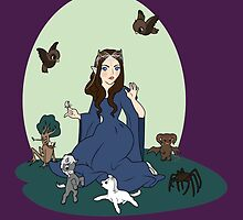 Disney Princess Arwen by Steph Hodges