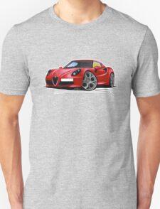 Alfa Romeo 4C Red T-Shirt
