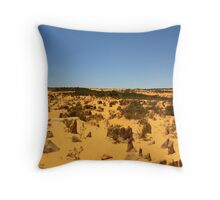 The Pinnacles #2, Cervantes, Western Australia Throw Pillow