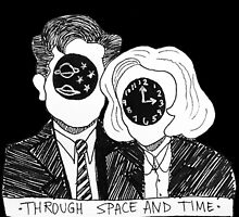Through Space and Time by DamnFineCoffee