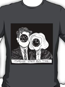 Through Space and Time T-Shirt