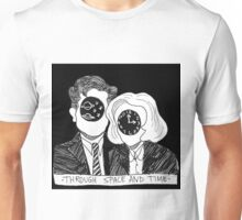 Through Space and Time Unisex T-Shirt