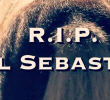 Bye Bye Lil' Sebastian Sticker