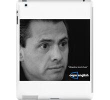oepn english iPad Case/Skin