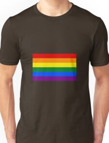 Rainbow LGBT Flag Unisex T-Shirt