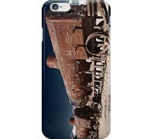 train cemetery at  Salar de Uyuni iPhone Case/Skin