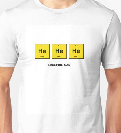 Periodic Table of Laughter Unisex T-Shirt
