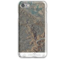 USGS TOPO Map Colorado CO Paradox 20110421 TM iPhone Case/Skin