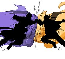 Naruto vs Sasuke by Stokha