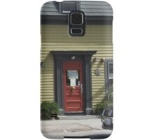 red door Samsung Galaxy Case/Skin
