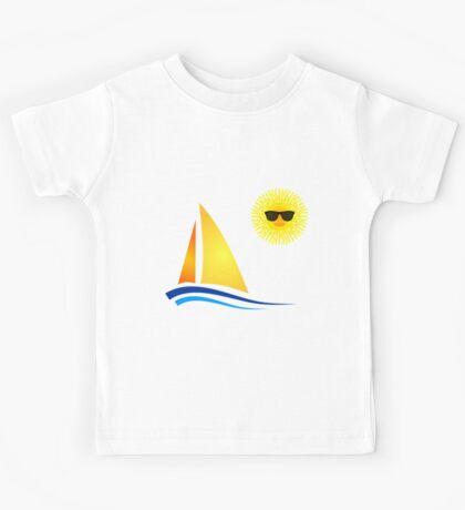 Sun Sailing Kids Tee