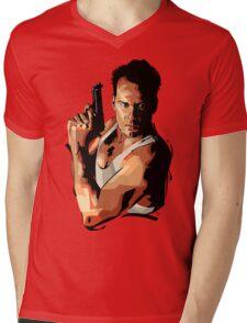 Die Hard 1 Mens V-Neck T-Shirt