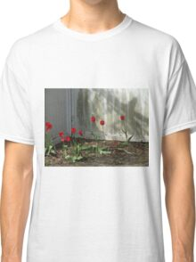 fence flowers Classic T-Shirt