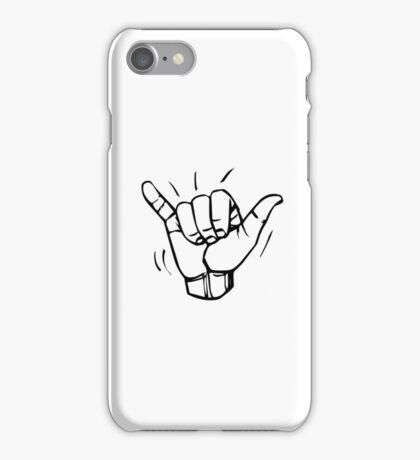 BJJ MMA SHAKA HANDS  iPhone Case/Skin