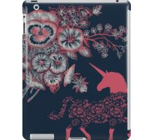 Floral & Lace Unicorn iPad Case/Skin
