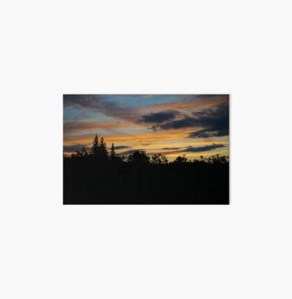 Forest Sunset Art Board
