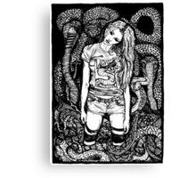 Snake Pit Canvas Print