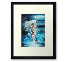 air element Framed Print