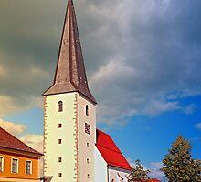 The village church of Schenkenfelden III | architectural photography by Patrick Jobst