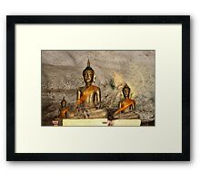 Completely content Framed Print
