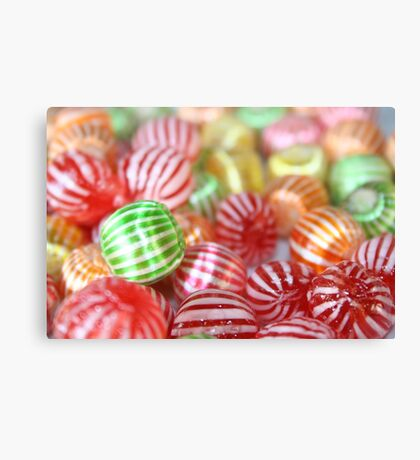 Sugar Candy Confectionary Canvas Print