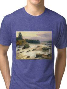 river rock Tri-blend T-Shirt