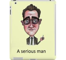A Serious Man iPad Case/Skin