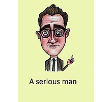A Serious Man Photographic Print