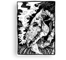 Dead Horse Canvas Print